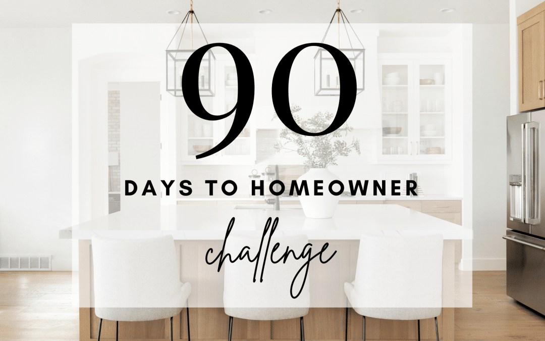 The 90 Days to Homeowner Challenge