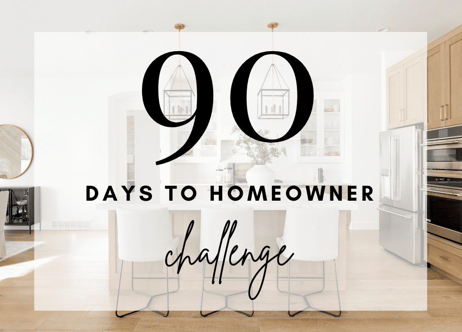 90 Day to Homeowner Challenge – Video Scripts