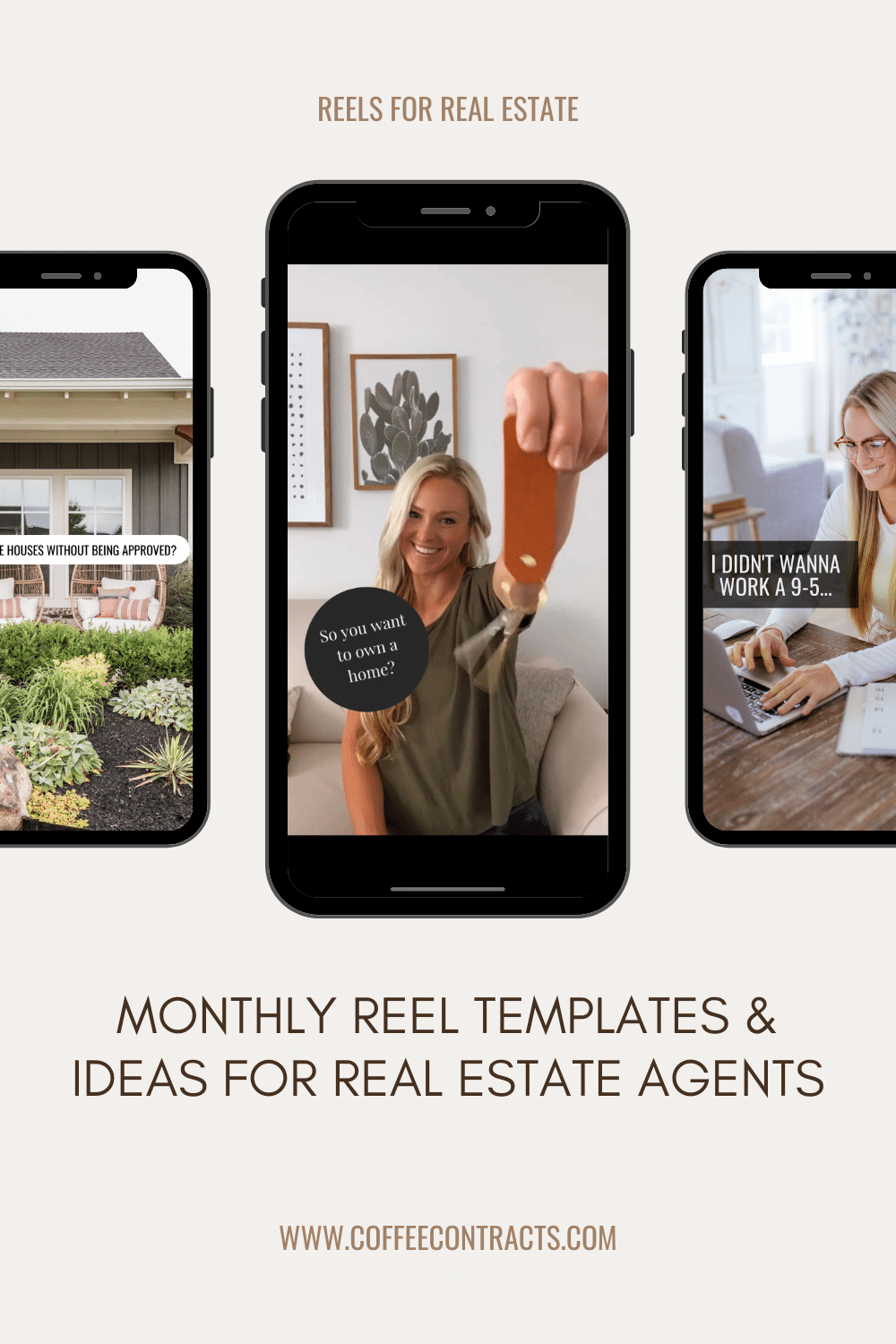 Marketing Templates and Social Media Content for Real Estate Agents